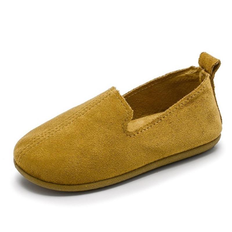 TOSJC Жёлтый цвет 55 детская кожаная обувь american brand 401 2015 cs001