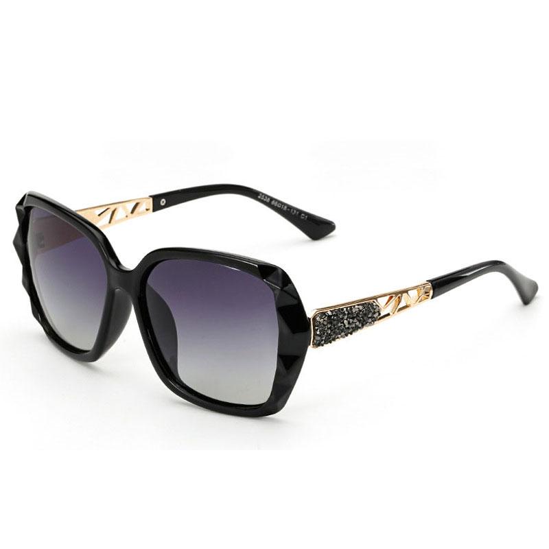 LIKEU S NO1 Black &amp Один размер Поляризованные солнцезащитные очки