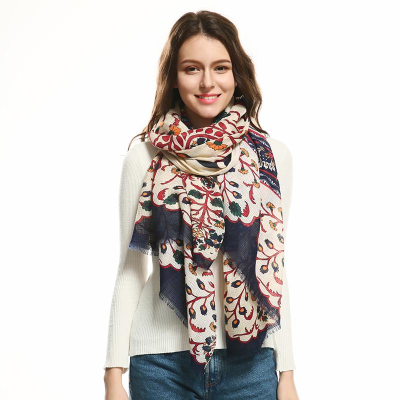 JeouLy Бежевый 175см woolly boolly шарф
