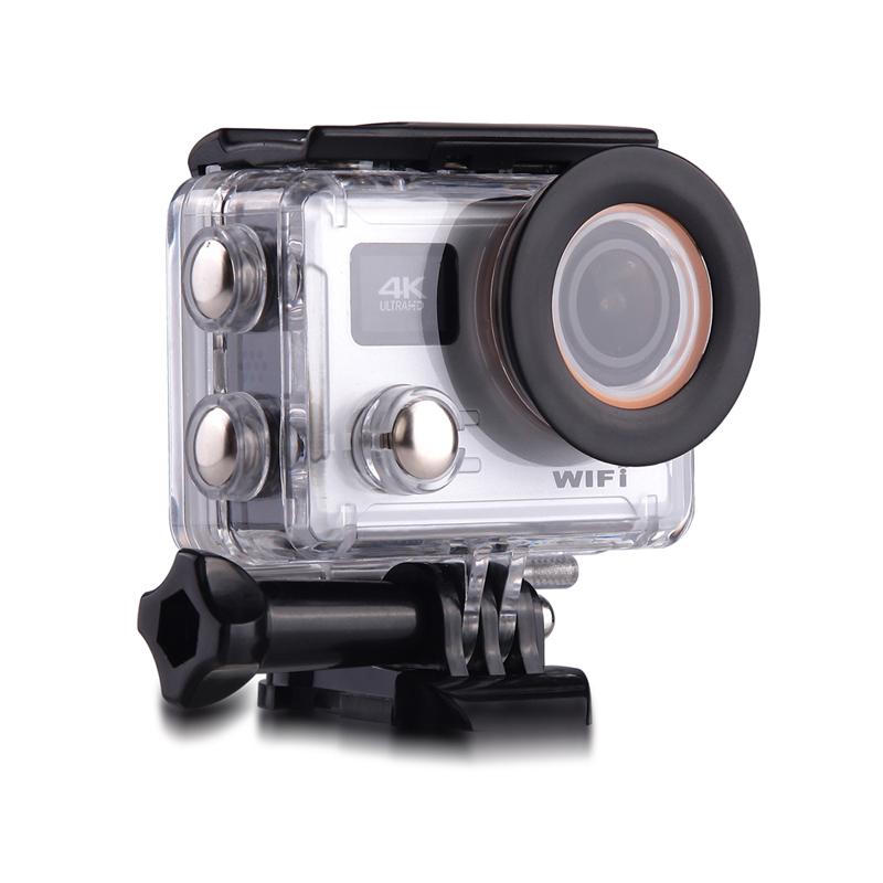 SAYHI Серебряный action camera 4k 30fps ultra hd 1080p 120fps 20mp sports dv водонепроницаемый wifi водонепроницаемый 170 градусов