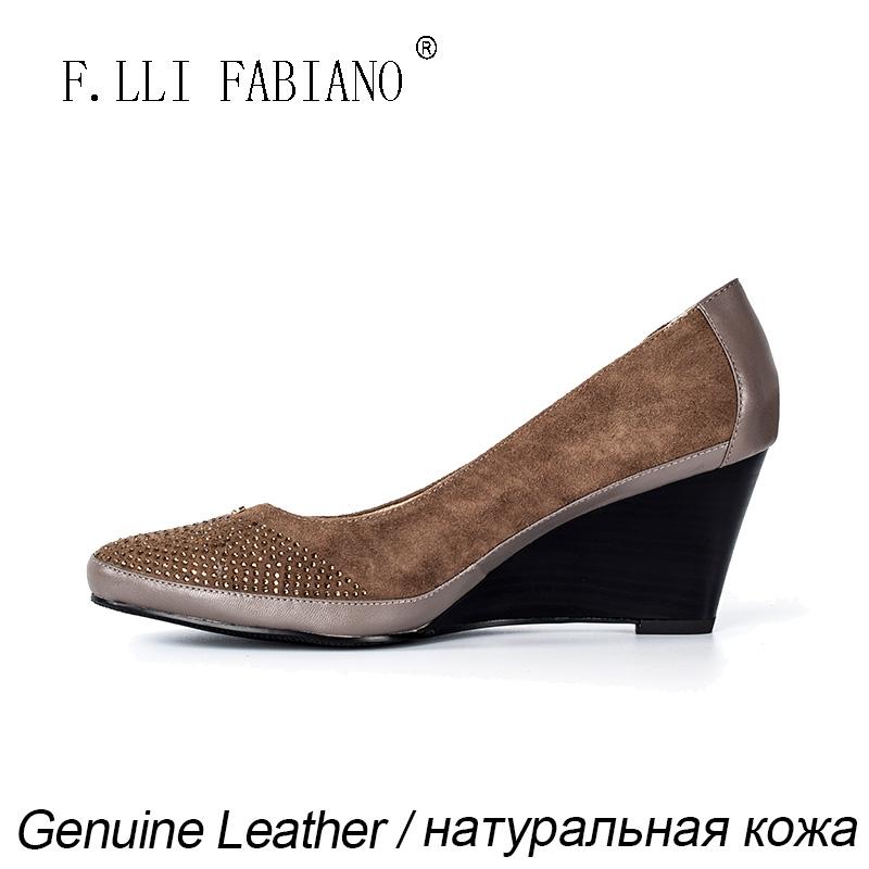 FLLI FABIANO обувь 2015 тренды
