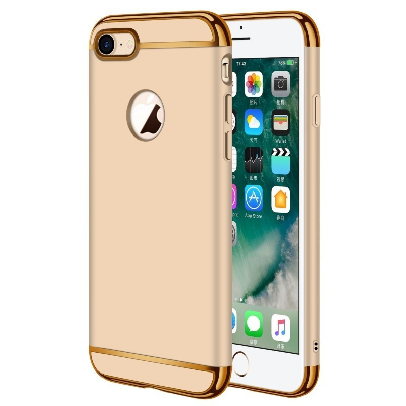 KYKEO золотой iPhone 8 Plus qialino durable phone cover case for iphone 8 plus