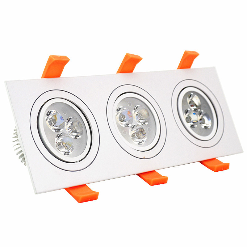 beeled СВЕТОДИОД new dimmable recessed led downlight cob 5w 7w 9w 12w dimming led spot light led ceiling lamp ac 110v 220v free shipping