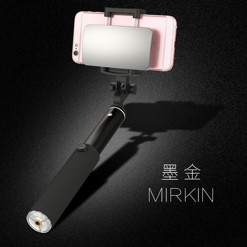 Mzxtby черный с Bluetooth original xiaomi 2 in 1 bluetooth control mini extendable folding tripod selfie selfie stick for mobile phone rc models toy