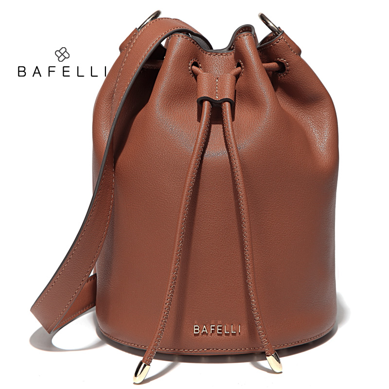 BAFELLI Коричневый цвет luxury leather handbags women bags designer famou brand crossbody for 2018 vintage tote shoulder bolsa feminina sac a main mujer