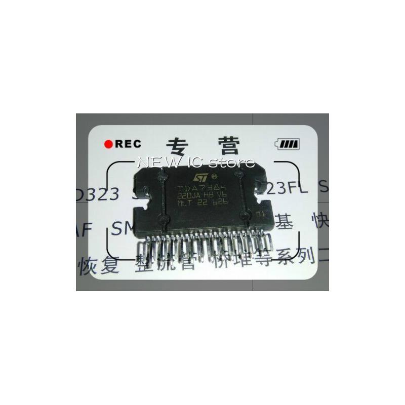 IC 20pcs lot hot stock tda7384a tda7384 car amplifier chip original spot