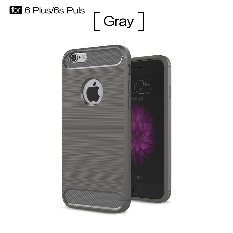 KYKEO Серый iPhone 6s Plus ultra thin pc hard back cover phone case for iphone 6 plus 6s plus