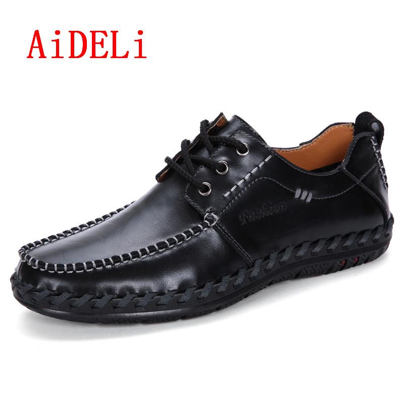 AiDELi Чёрный цвет 9 ярдов 9 кабинета досуг вентиляция мужская обуви туфли мода поп ст
