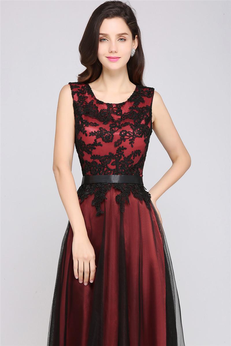Длинные вечерние вечерние вечерние вечерние вечерние вечерние вечерние платья babyonlinedress Красное вино US 16 UK 20 EU 46 фото