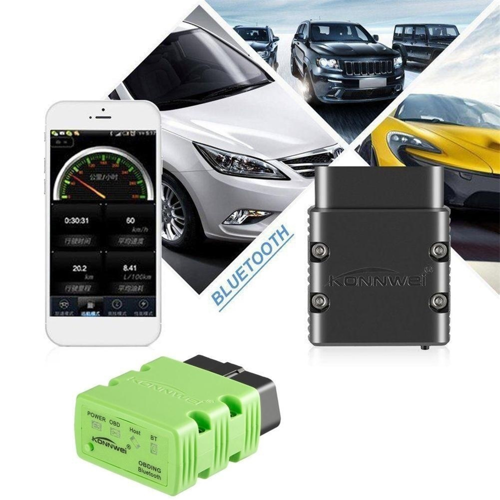 Knilca Чёрный цвет Инструменты мониторинга 2017 xtuner x500 bluetooth auto obdii code reader scanner works on andriod windows x500 obd2 car diagnostic tool free shipping