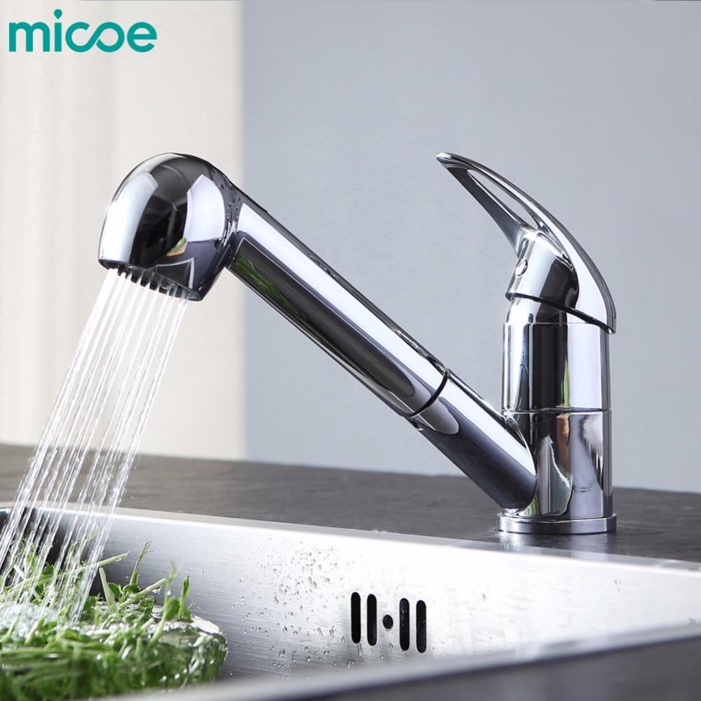 micoe Н-HC210 Смеситель для кухни смеситель для кухни micoe для кухни традиционная кухонная насадка с 360 ° поворотный носик с одной ручкой смеситель для раковины для кухни h hc209
