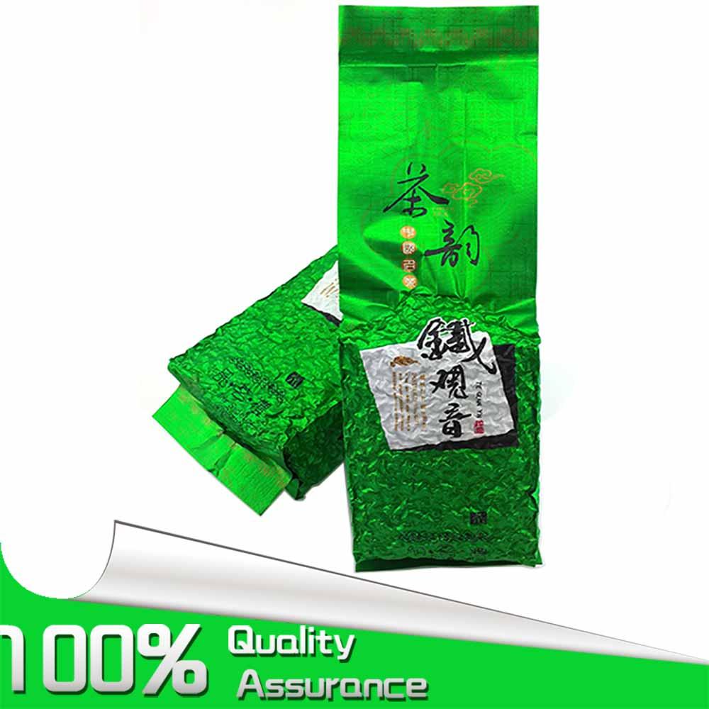 FullChea 250g c250g китайский anxi tieguanyin зеленый чай oolong tie guan yin 1725 gold gui weight loss china green food slimming teas подарок бесплатно