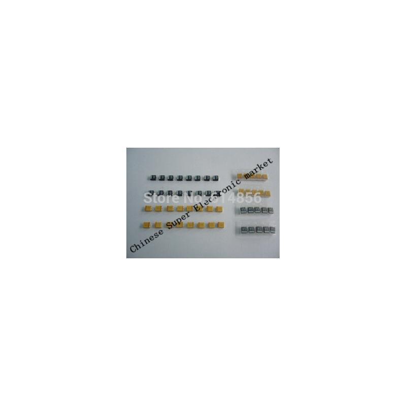 IC 1uf 2200uf 125pcs 25 value electrolytic capacitors assorted kit set