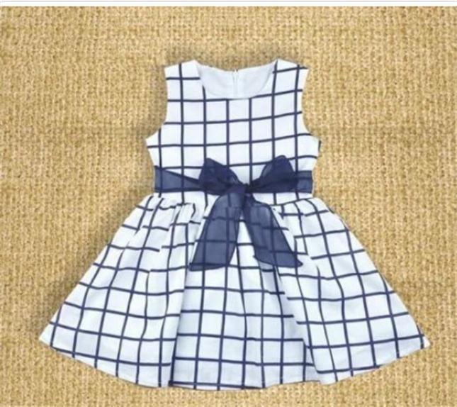 Тёмный синий цвет 100 платья для девочек