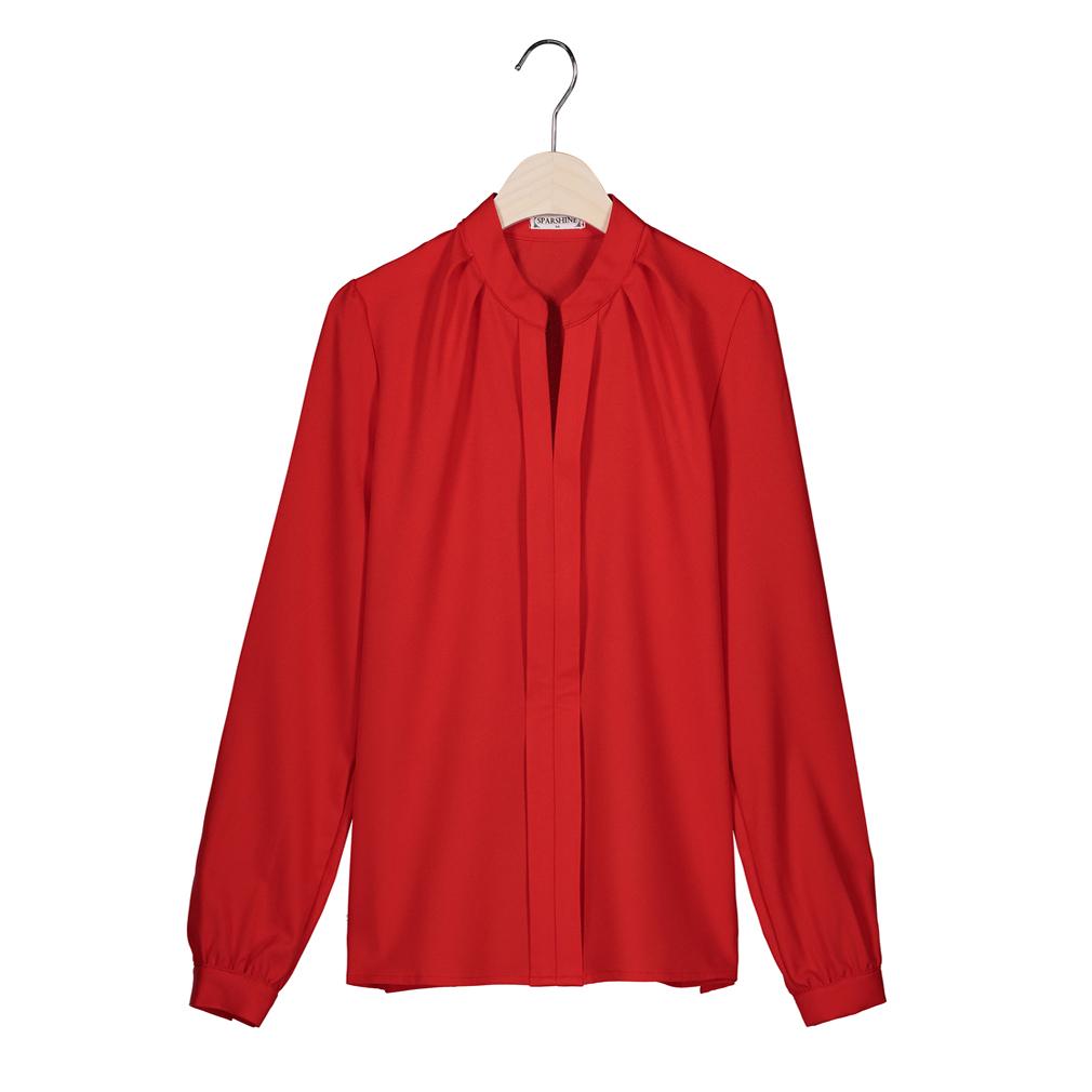 SPARSHINE Красный Номер XXL блузки elegancestyle блузка фреска