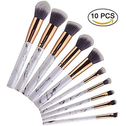 Diow pro 15pcs tz makeup brushes set powder foundation blush eyeshadow eyebrow face brush pincel maquiagem cosmetics kits with bag