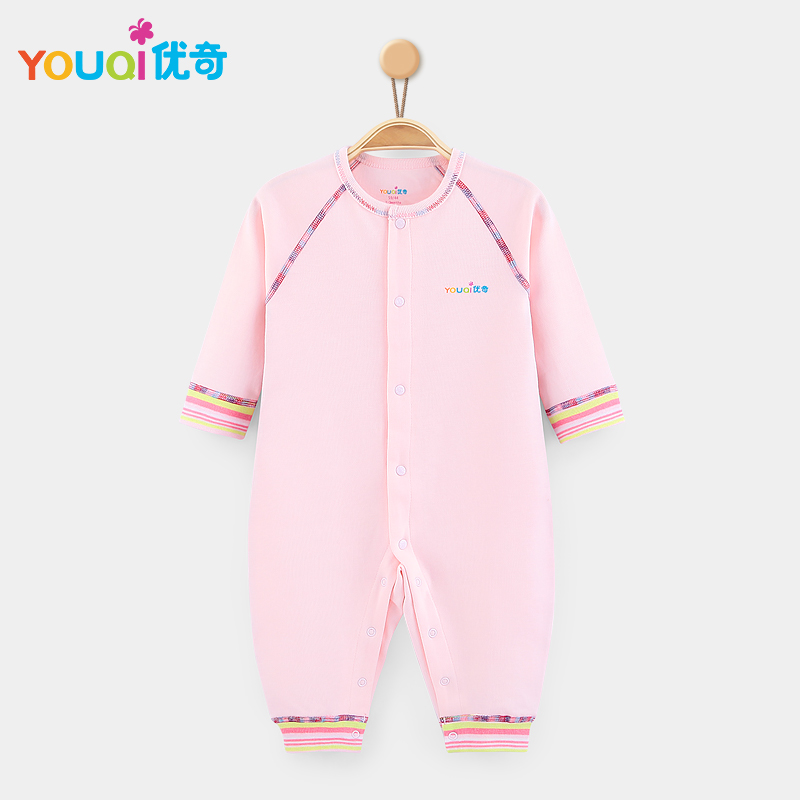 Розовый цвет 3-6 Months newborn baby boy girl infant warm cotton outfit jumpsuit romper bodysuit clothes