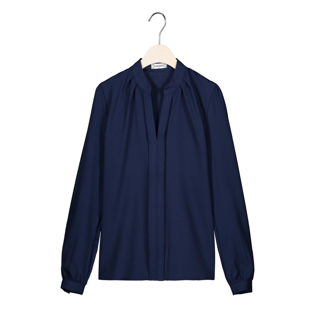 SPARSHINE Темно-синий Номер L блузки elegancestyle блузка фреска