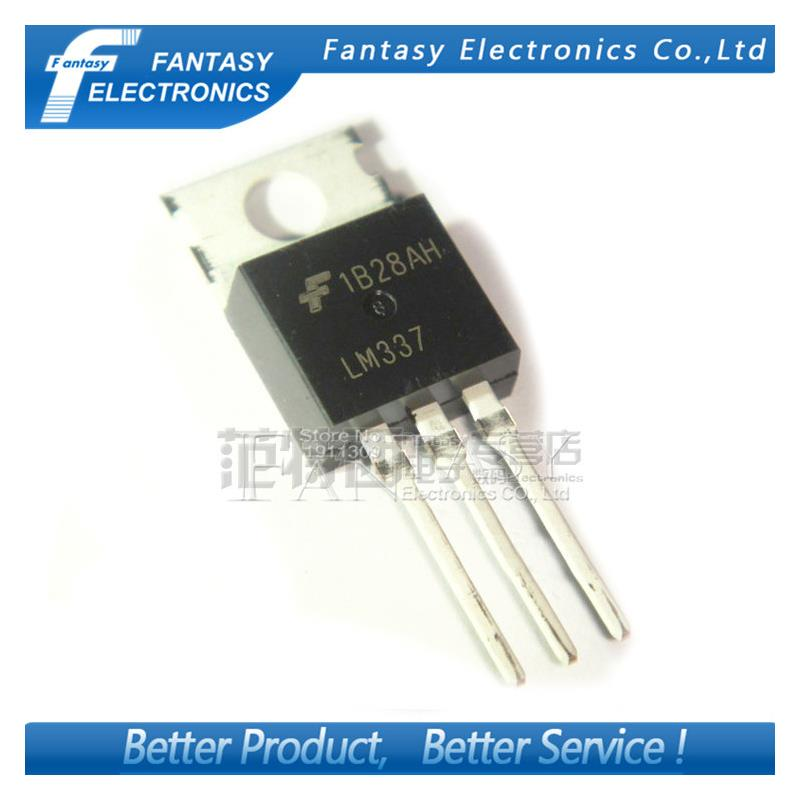 IC 50pcs free shipping lm337t lm337 to 220 voltage regulators 1 5a neg adj vol reg new original