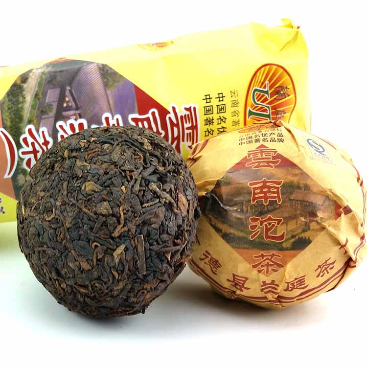 FullChea 2008 год спелый чай pu erh loose tea china yunnan shu puer bag упаковка 250г
