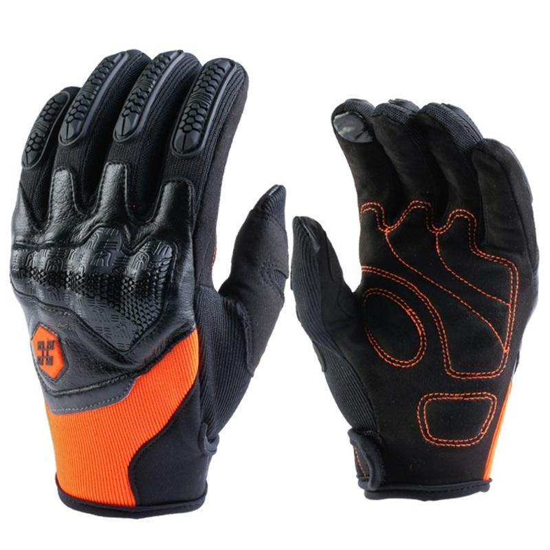Перчатки мотоциклетные Перчатки мотоциклетные MTB велосипедные перчатки пружинные мотоциклетные перчатки Roaming оранжевый 2XL фото