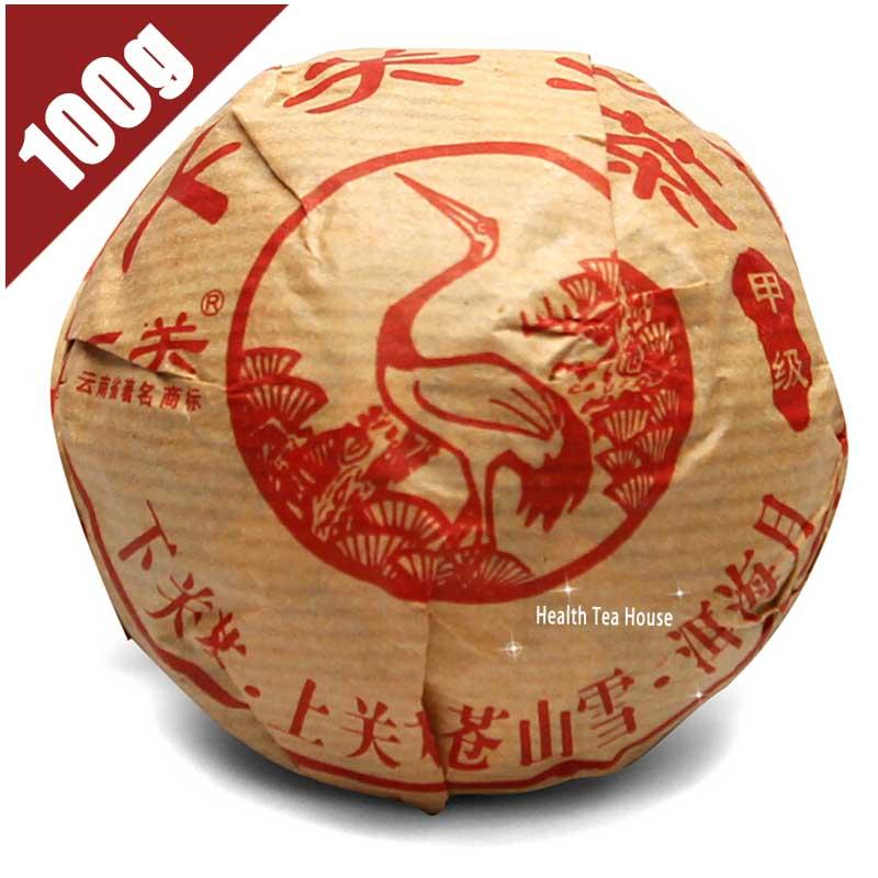 FullChea chinese yunnan puer tea brand xiaguan raw tea 2012yr bowl tea 100g tuo cha