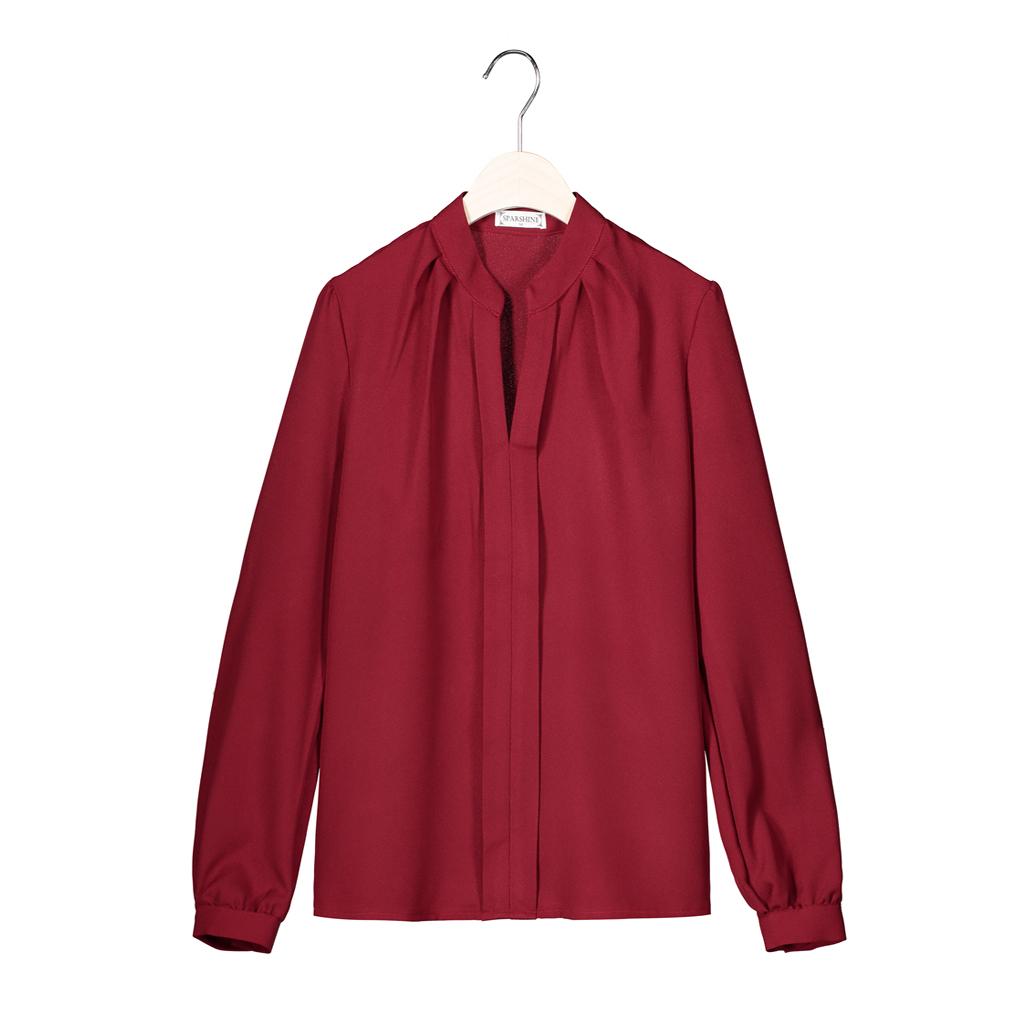 SPARSHINE Красное вино Номер XS блузки elegancestyle блузка фреска