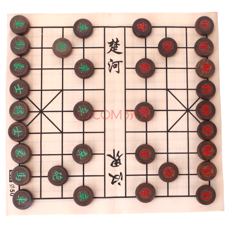Huasheng Черное дерево Шахматные 4,5 сантиметра Один размер