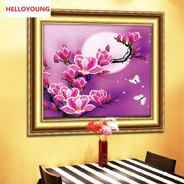 HelloYoung home beauty 5d diy dd038 cross stitch