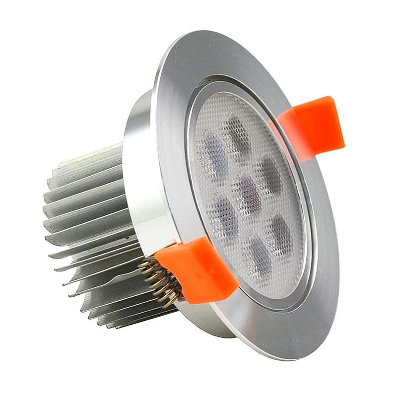 beeled СВЕТОДИОД встраиваемый светильник maysun th 100 5w silver теплый белый