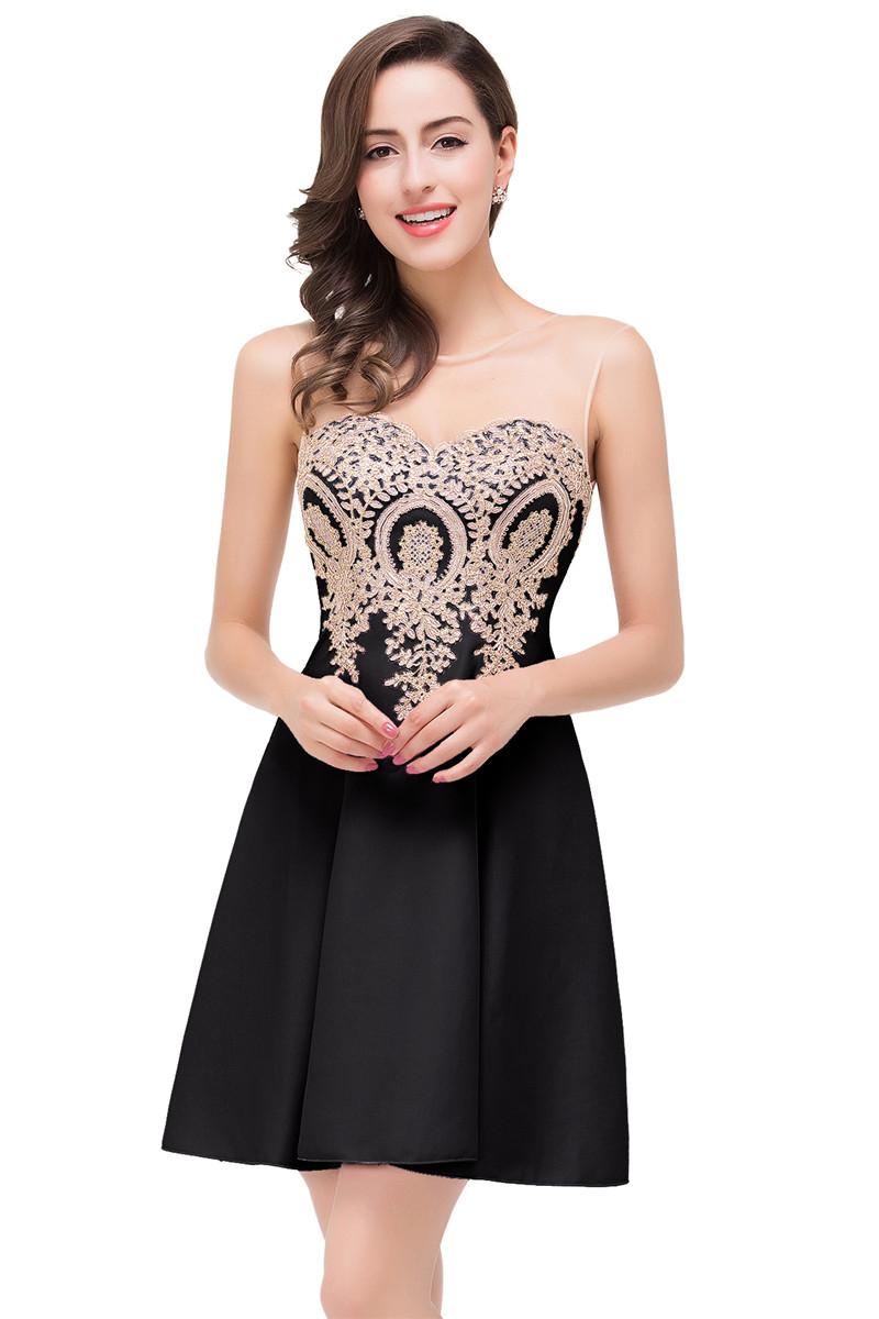 малыш платье черный США 4 Великобритания 8 ЕС 34 полуприлегающее платье без рукавов marc cain платья и сарафаны мини короткие