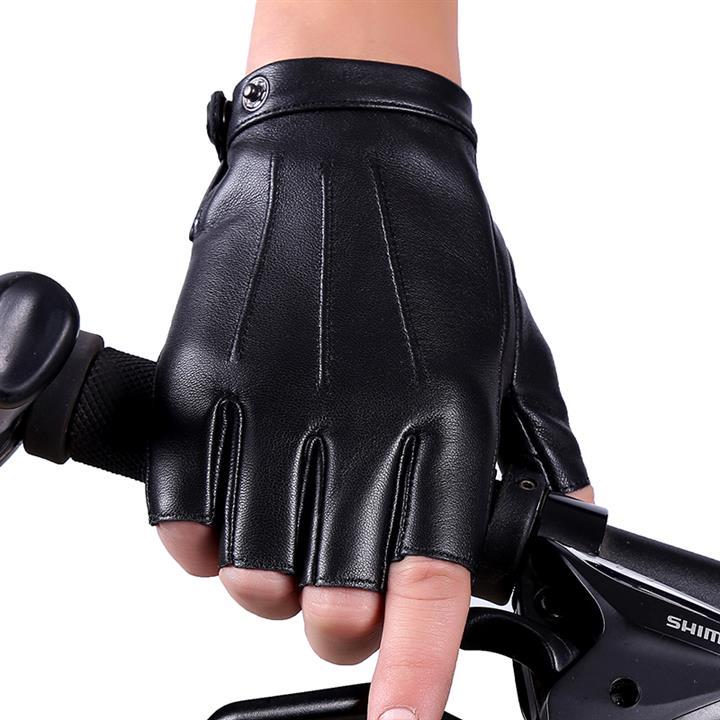 svadilfari Черный Тип М перчатки без пальцев шерстяные с рисунком бордо