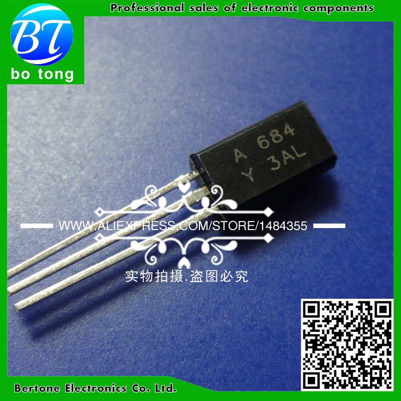 IC free shipping 100pcs lot silicon semiconductor triode bt33f bt33 unijunction transistor double base diode gold seal best quality