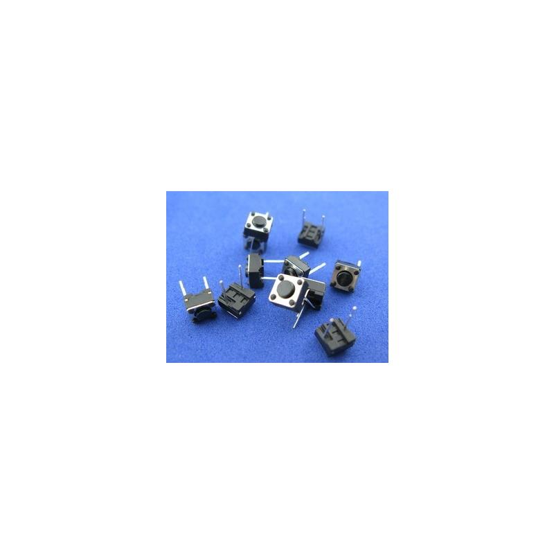 IC 1000pcs 6 6 4 3mm 6x6x4 3mm 2pin tact switch tactile switch square knobs touch