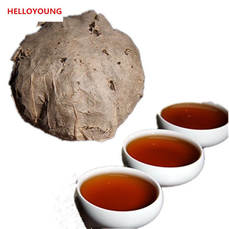 HelloYoung free shipping 2012 dayi ruyi puer shu tuo classic da yi wishful 201 batches 100g cooked pu er tea