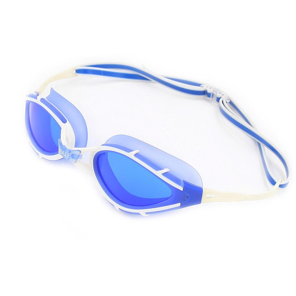BENICE Синий очки плавательные larsen s45p серебро тре