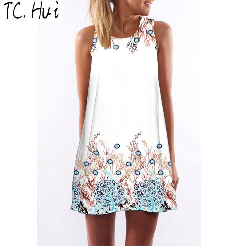TCHui M 2015 году лето новый корейский моды сумка бедра платье водолазку t шаблон себя которую весны женщин платья тонкий