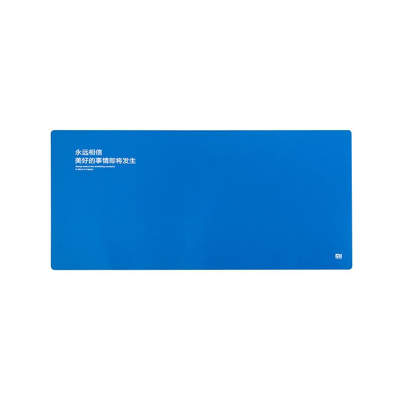 Mi Синий цвет просо mi просо большой черный водонепроницаемый коврик для мыши