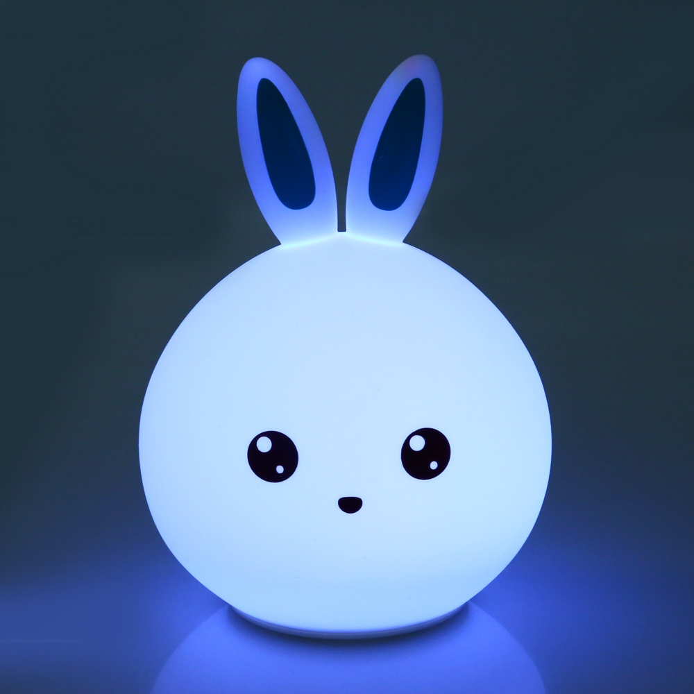 GBTIGER Настоящий синий yeelight ночник светодиодный заряжаемый с датчиком движения