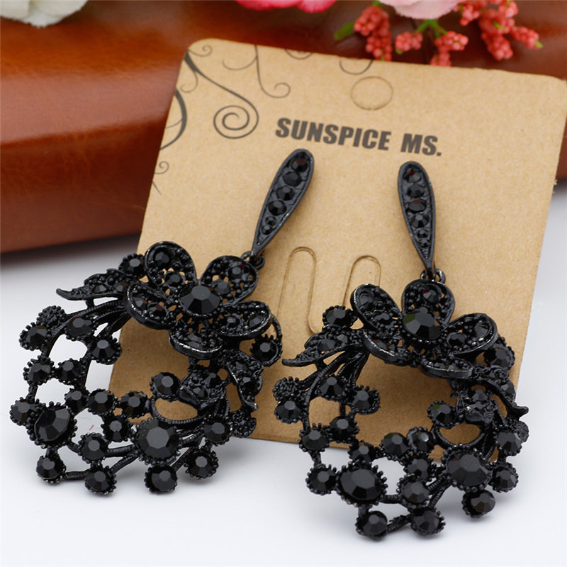 SUNSPICE MS Black серьги bohemia style цвет песочный bw1248 8767 17