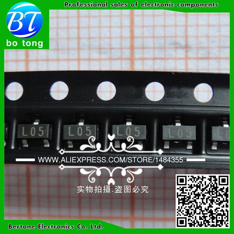 IC 3000pcs 78l05 l05 sot 23 5v original new