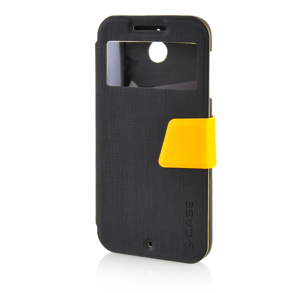 MOONCASE mooncase soft silicone gel side flip pouch hard shell back чехол для samsung galaxy s6 grey