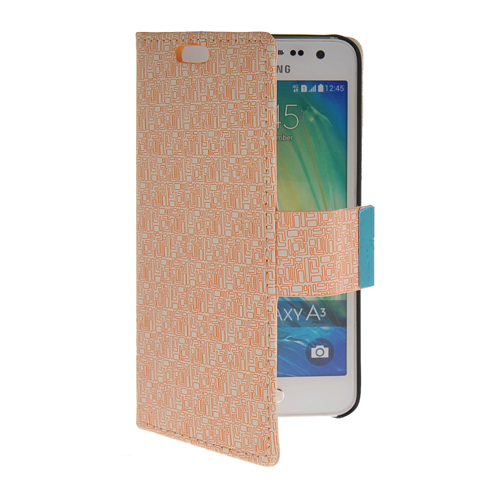 MOONCASE mooncase view window leather side flip pouch stand shell back чехол для samsung galaxy s duos s7562 white