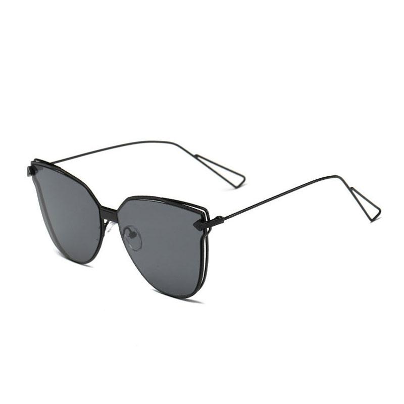 LIKEU S NO1 Black &amp Один размер Металлические солнцезащитные очки