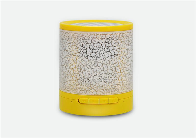 zhileyu желтый wireless bluetooth speaker hand spinner with colorful led light