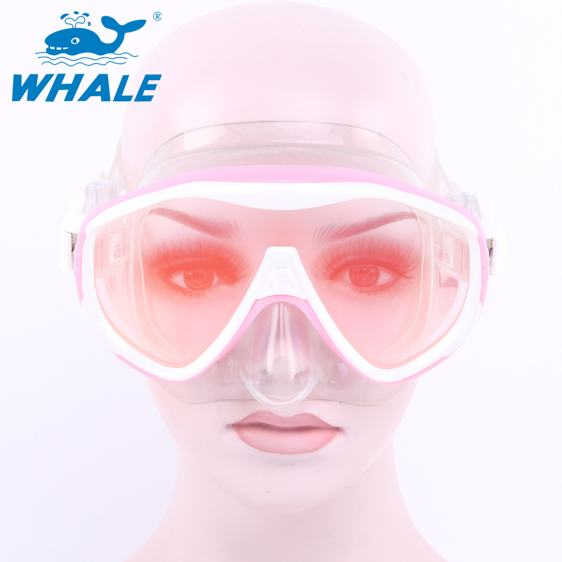 BENICE Розовый newest full dry diving mask snorkeling mask silicone scuba mask mascara buceo full face alien style whole dry mask for adult