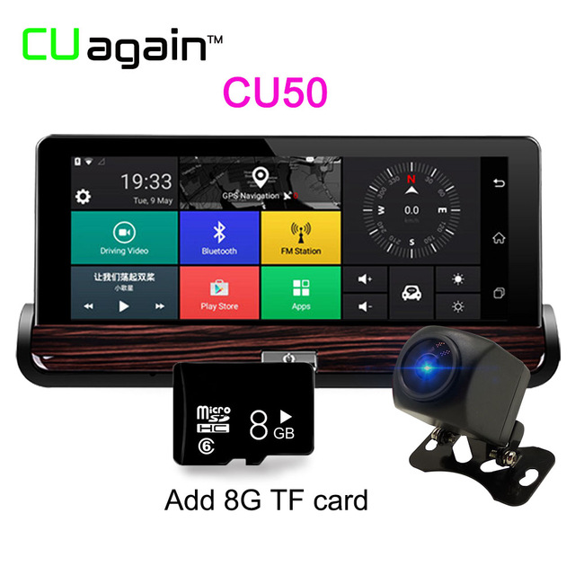 Карта памяти CU50 8G 1080p mini 0906 car dual lens dvr 1080p fhd dash cam