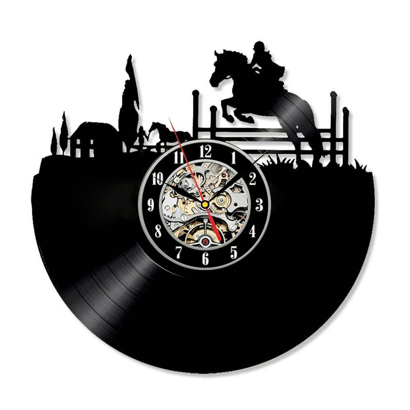 Настенные часы BOGAO черный фото