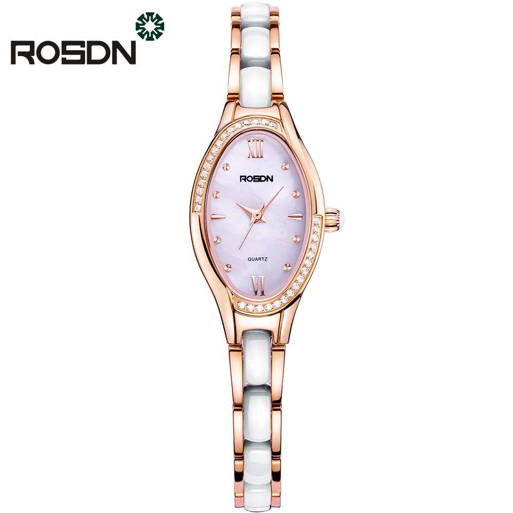 ROSDN Золотые женские часы