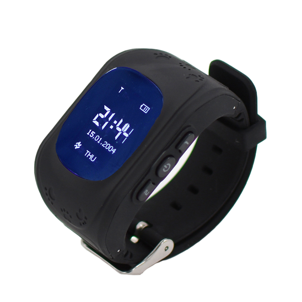 9Tong Чёрный цвет q50 smart watch dark blue